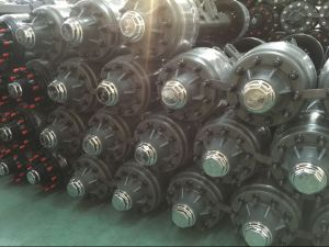 Semi Trailer Spare Parts Trailer Axle pictures & photos