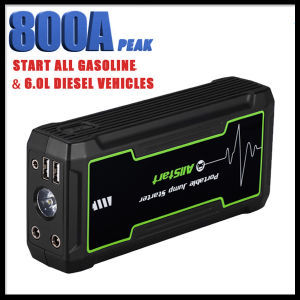 T241 Portable Car Jump Starter with 16800mAh Power Bank pictures & photos