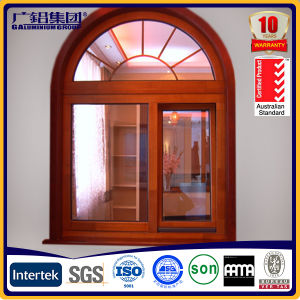 Aluminium Arch Top Window Aluminium Arched Windows pictures & photos