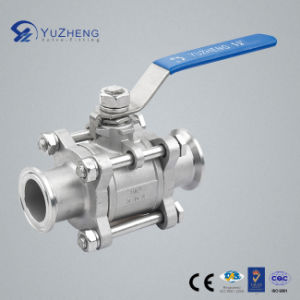 3PC Ball Valve with Clamped Ending pictures & photos