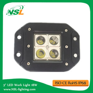 Flush Mount 3 Inch Cube 16W CREE LED Work Light off Road Truck pictures & photos