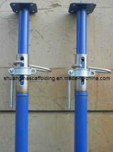 Construction Support Scaffolding System Steel Shoring Prop Jack pictures & photos