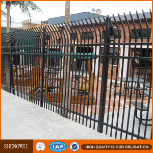Security Black Color Welded Steel Fencing From China Factory pictures & photos
