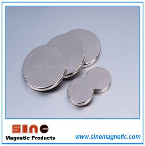 Strong Sintered Disc Neodymium Magnet pictures & photos