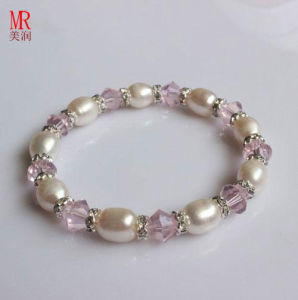 Stretched Kids Freshwater Pearl Bracelet Wholesale pictures & photos