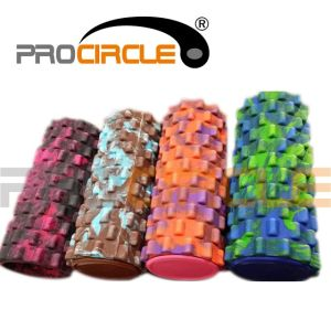 2015 Camouflage Colorful Massage Grid Rollers pictures & photos