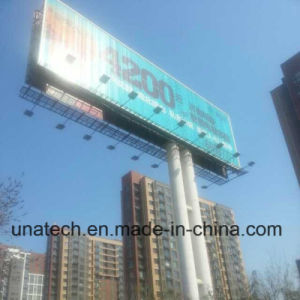 Electronic Outdoor Highway Unipole Advertising Signs Trivision Billboard pictures & photos