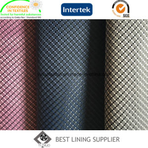100% Polyester Super Soft Men′s Suit Lining Fabric Supplier pictures & photos
