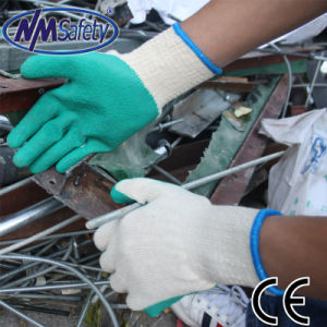 Nmsafety Cheap Latex Coated UK Hot Sale Work Glove pictures & photos
