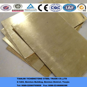 Free Cut Brass Plate H62 pictures & photos