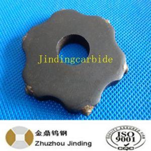 6 PT. Tungsten Carbide Scarifier Cutters for Concrete Scarifier pictures & photos
