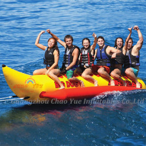 Flying Banana Inflatable Boat for Water Game (CYBT-1410) pictures & photos