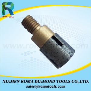 Romatools Diamong Milling Tools of Finger Bits for Drilling and Milling Slabs on CNC Machine pictures & photos