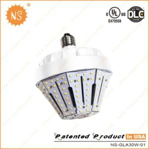 cUL UL Dlc Listed 4500lm E40 30W LED Garden Street Bulb pictures & photos