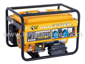 2kVA, 3.0kVA, 5.5kVA, 7kVA Power Gasoline Engine Electric Generators pictures & photos