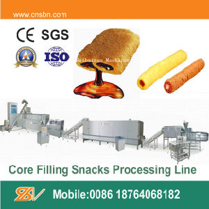 The Production Line of Core-Filled Snack Food pictures & photos