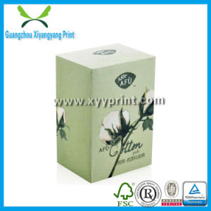 Custom Organic Cosmetic Sample Packaging Box with Customized Design pictures & photos