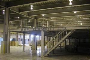 Steel Platform (Structural steel building for workshop) pictures & photos