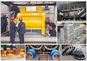 High Efficiency Js3000 Spiral Belt Type Concrete Mixer pictures & photos