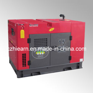Water-Cooled Super Silent Diesel Generator Set (GF-15kVA) pictures & photos