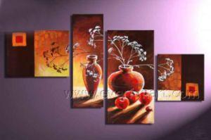 Popular Home Description Canvas Art Landscape Oil Painting (LA4-041) pictures & photos