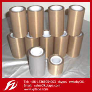 0.13mm Thickness PTFE Tape Teflon Tape with Adhesive pictures & photos