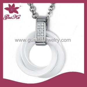 Custom Most Fashion Ceramic Pendant Necklace (2015 Gus-Cmpn-006) pictures & photos
