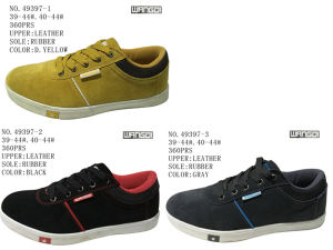 No. 49397 Three Color Men Size Skate Stock Shoes pictures & photos