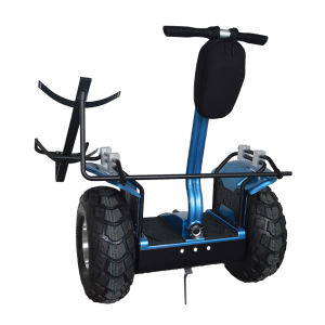 Gyroscope Sensitive Best Performance Golf Scooter with Terrain Wheels pictures & photos
