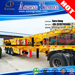 40ft 3 Axles Skeleton Container Chassis/Container Semi Trailer pictures & photos