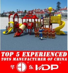 HD2013 Outdoor Fire Man Collection Kids Park Playground Slide (HD13-010A) pictures & photos