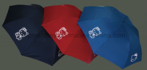 Easy Carry Safety Reflective Folding Umbrella for Promotion Gift pictures & photos