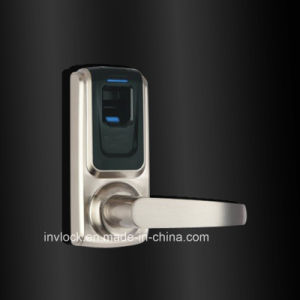 Single Latch Fingerprint Door Lock pictures & photos