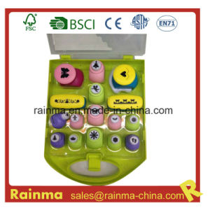 Plastic Paper Craft Punch in PP Box pictures & photos