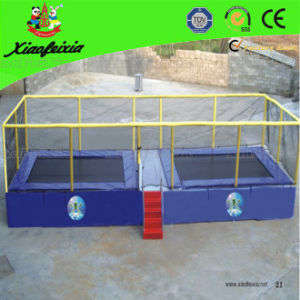 Two in One Trampoline for Children with Safety Handle (LG038) pictures & photos