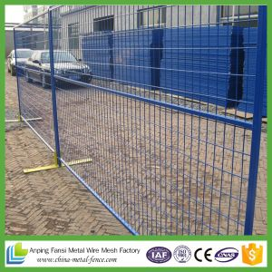 New Product Outdoor Used in Canada Welded Temporary Fence pictures & photos