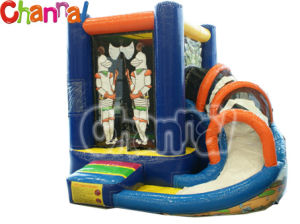 Knight Inflatable Bounce House/Kids Inflatable Bouncer Castle Bb022 pictures & photos