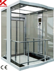 Panoramic Elevator with Glass Car Wall pictures & photos