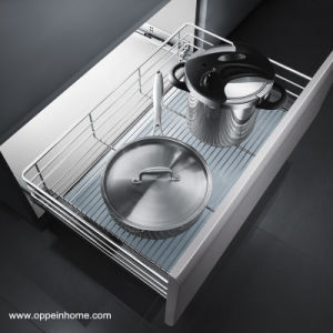 Oppein Storage System Stainless Steel Wire Kitchen Basket (OP-LB080TD) pictures & photos