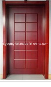 Flush Good Quality Melamine Door with Frame pictures & photos