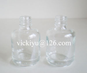 Small Round Glass Bottls for Cosmetics 18ml pictures & photos