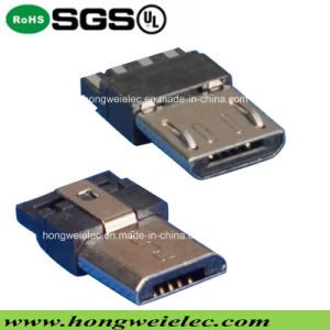 5pin Male Solder Type Micro USB Connector pictures & photos