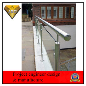 Stainless Steel Balustrade Railings with Tempered Glass pictures & photos