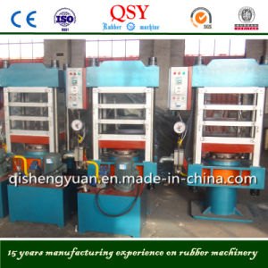 Four Column Rubber Vulcanizing Press Machine pictures & photos
