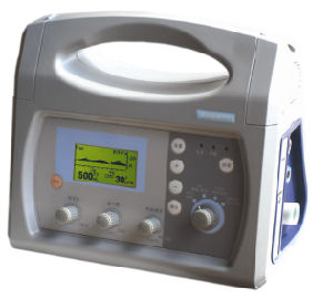 Model Vt-100c Medical Portable ICU Ventilator with CE pictures & photos
