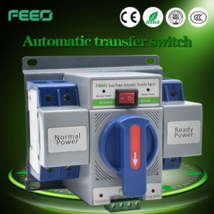1-63A 2p 3p 4p 230VAC Dual Power Automatic Transfer Switch pictures & photos