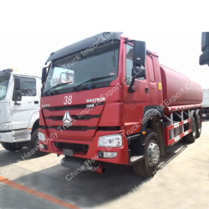 6X4 Sino Truk 18000L-20000L Oil/Fuel Tank Truck for Light Fuel pictures & photos