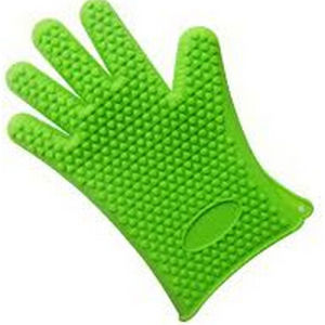 Heat Proof Silicone Oven Gloves pictures & photos