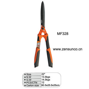 Oval Steel Tube with Plastic Grips Hedge Shear pictures & photos