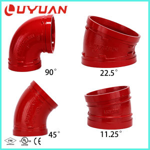 Ductile Iron Grooved Elbow with 90/45/22.5/11.25 Degree Elbow pictures & photos